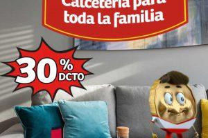 Soriana Mercado y Express: 30% de descuento en calcetines para toda la familia