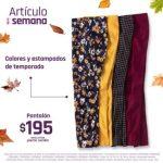 Suburbia Articulo de la Semana pantalón para dama Evolution Pierre Cardin $195 al 15 de septiembre