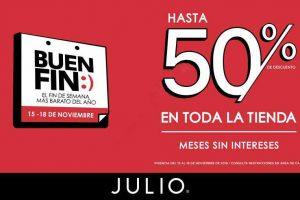 Julio Buen Fin 2019: Hasta 50% de descuento en toda la tienda