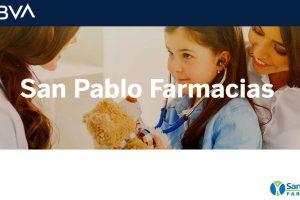 Farmacias San Pablo: Puntos BBVA al doble del 24 al 27 de octubre 2019