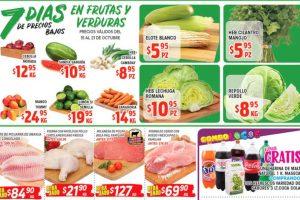 Frutas y Verduras HEB del 15 al 21 de octubre 2019