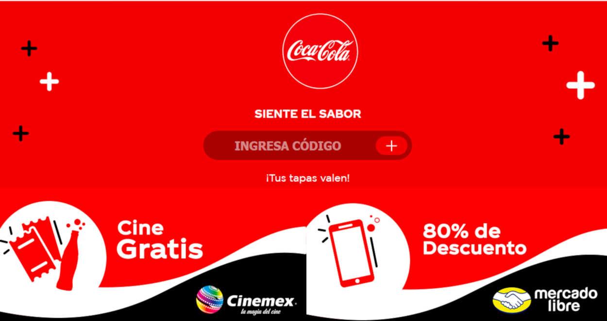 Promoción Coca-Cola Tapas Verdes 2019: Gana regalos de Cinemex, Ticketmaster y Mercado Libre