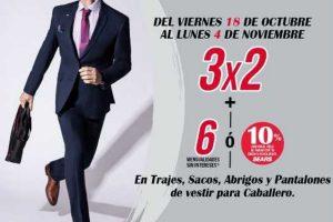 Sears 3x2 en ropa formal para caballero del 18 de octubre al 4 de noviembre