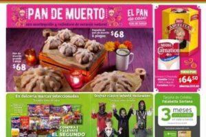 Folleto de ofertas día de muertos en Soriana Híper y Mega del 18 al 31 de octubre 2019