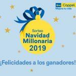 Sorteo Navidad Millonaria Coppel 2019