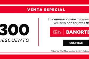 Venta Especial Innovasport: $300 de descuento con tarjetas Banorte