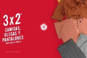 C&A: 3x2 en camisas, blusas y pantalones seleccionados