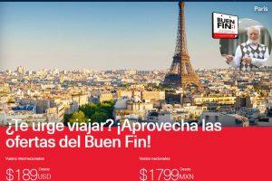 Aeroméxico Buen Fin 2019: Promociones en vuelos nacionales e internacionales