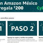 Amazon México - Cyber Monday 2019 / Cupón de $200 de descuento
