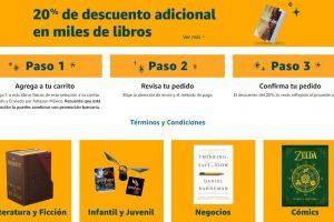 Amazon México: 20% de descuento en libros seleccionados
