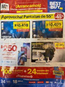 Catálogo de ofertas Best Buy El Buen Fin 2019