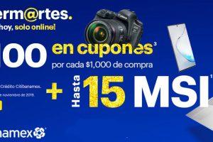 Bestbuy: $100 en cupones por cada $1,000 y MSI con CitiBanamex