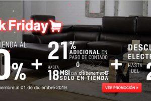 Black Friday 2019 en Muebles Dico: 30% de descuento en toda la tienda