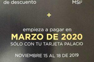 Buen Fin 2019 Palacio de Hierro: Hasta 50% de descuento y MSI