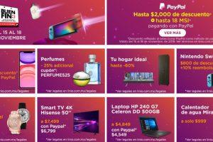 Ofertas Linio Buen Fin 2019: hasta $2,000 de descuento + 18 msi con Paypal