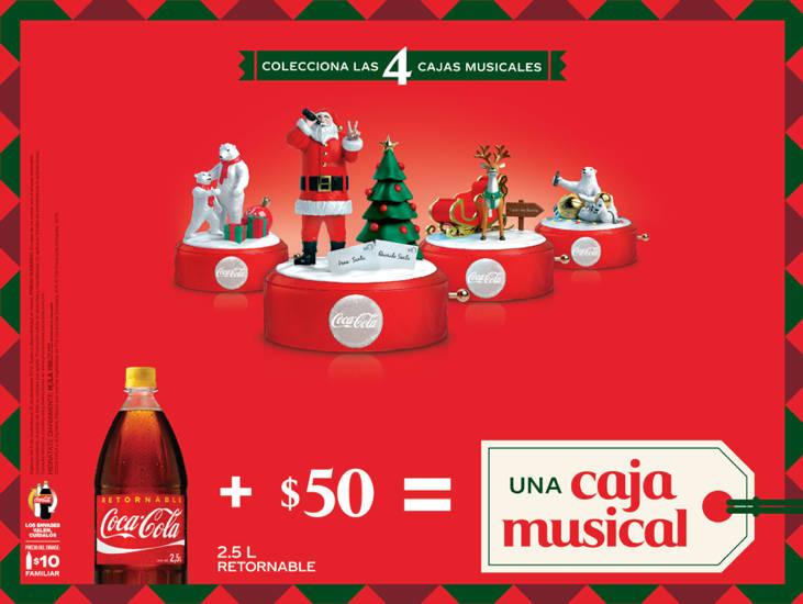 Promoción Coca-Cola Cajas Musicales Navideñas 2019