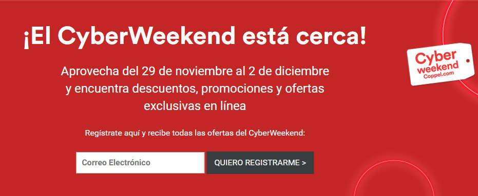 Coppel – Cyber Weekend del 29 de noviembre al 2 de diciembre 2019