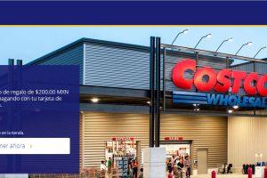 Costco: Certificado de Regalo por $200 al afiliarte y pagando con Visa