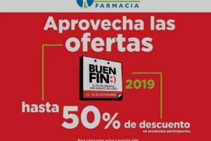 El Buen Fin 2019 en Farmacias San Pablo hasta 50% de descuento