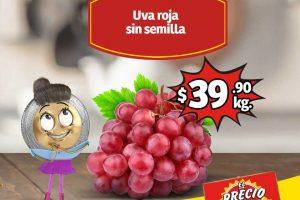 Frutas y Verduras Soriana Mercado 6 y 7 de noviembre 2019