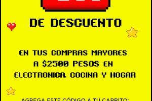 HEB: Cupón de $500 de descuento en electronica, cocina y hogar