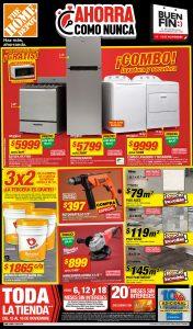 Catálogo de ofertas Home Depot Buen Fin 2019