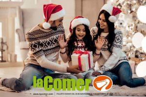 La Comer: Folleto de ofertas navideñas al 5 de diciembre 2019