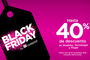 Ofertas Black Friday 2019 en Liverpool