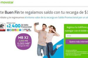 Ofertas El Buen Fin 2019 en Movistar