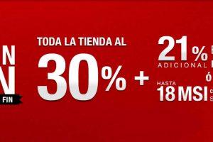 Muebles Dico El Buen Fin 2019: 30% de descuento + 21% adicional de contado