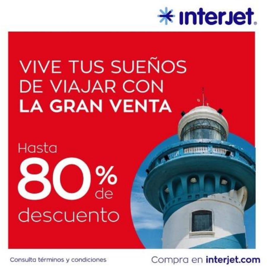 Ofertas El Buen Fin 2019 en Interjet: Hasta 80% de descuento
