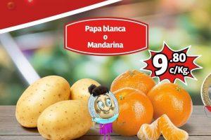 Frutas y Verduras Soriana Mercado y Express del 26 al 28 de Noviembre 2019