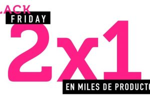 Black Friday 2019 en Osom: 2x1 en miles de productos