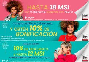 Privalia El Buen Fin 2019: 10% de descuento y hasta 18 msi con Paypal