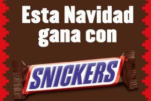 Promoción Snickers Navidad 2019 Gana Boletos Cinépolis, Recargas Gratis y Crédito Starbucks