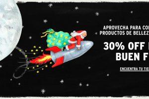 Promoción The Body Shop El Buen Fin 2019: 30% de descuento