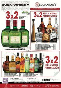 Promociones Bodegas Alianza Buen Fin 2019: 3x2 en vinos y licores