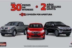 Promociones Mitsubishi El Buen Fin 2019: hasta 30 msi y seguro gratis