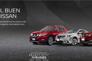 Promociones Nissan El Buen Fin 2019: Bonos, msi y 4x3 en llantas