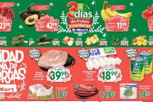 Ofertas S-Mart frutas y verduras del 5 al 7 de noviembre 2019