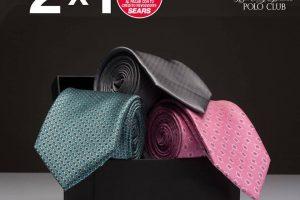 Sears: 2x1 en corbatas seleccionadas del 25 al 28 de noviembre 2019