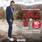 Sears: 3x2 en trajes, sacos, pantalones y abrigos
