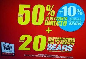 Promociones Sears Buen Fin 2019: hasta 50% de descuento + 20 msi