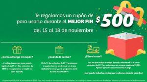 El Buen Fin 2019 en Soriana: cupón de $500 de descuento