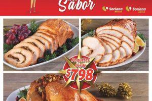 Folleto de ofertas Soriana Mercado Cenas Navideñas 2019