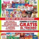 Soriana Mercado y Express: 3x2 en congelados, yoghurt, salchichas y jamones