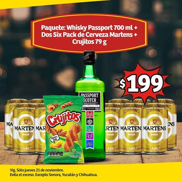 Soriana Mercado Y Express Jueves Cervecero 21 Noviembre 2019