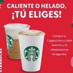 Promociones Starbucks: Cupones de 2x1 en latte o cappuccino