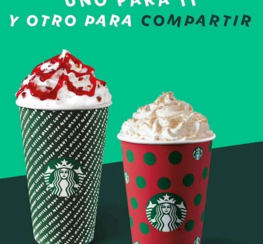Starbucks: Cupón 2×1 en Frappuccino