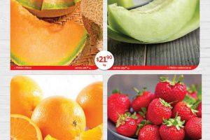 Frutas y Verduras Superama Especiales de la Quincena del 4 al 18 de noviembre 2019